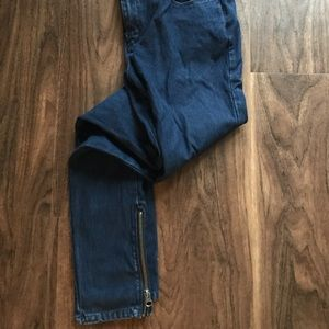 Urban outfitters zipper jeans